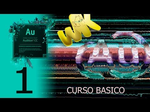Adobe Audition CC, Tutorial inicio, descarga e instalacion, Curso completo en español, ...