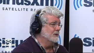 """George Lucas """"Red Tails is an American Movie"""" // SiriusXM // Stars"""