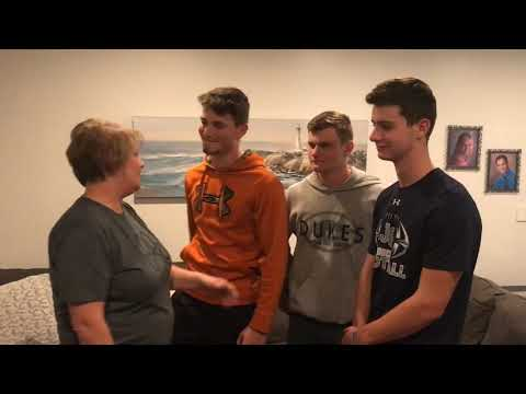 Mama Christe introduces her Garber vs Glenn boys