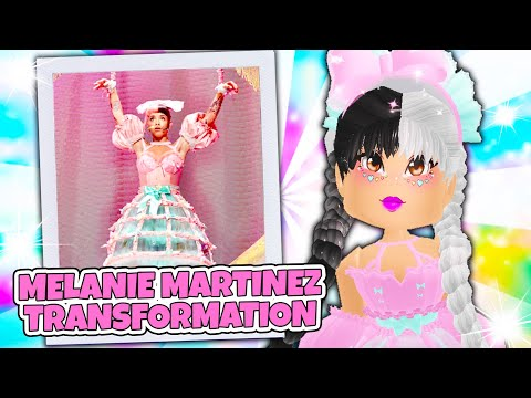 How To Become MELANIE MARTINEZ and KYLIE JENNER in Roblox Royale High School!