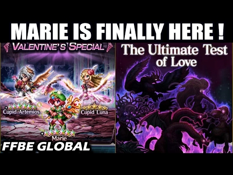 Marie Is Finally Here !? New Global Exclusive Valentine Event & Units (FFBE Global News)