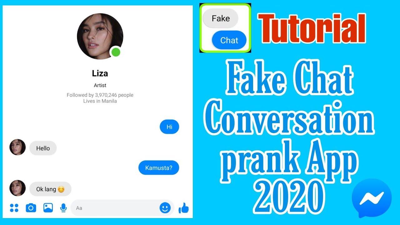 Chat fake Fake iMessage