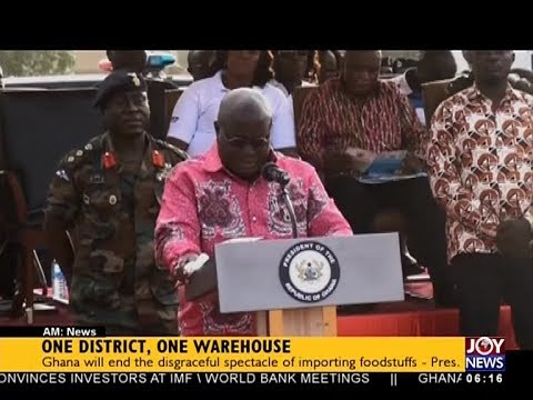 One District, One Warehouse  - AM News on JoyNews (19-10-17)