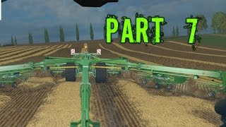 Farming Simulator 2015 Gameplay Walkthrough Playthrough Part 7: Hay Bailing (PC)