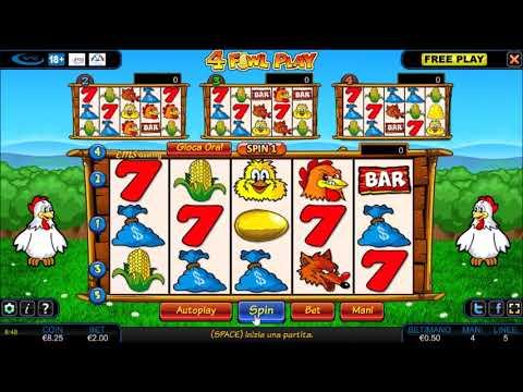 Slot machine bar galline gioca gratis