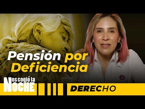 Pensión Anticipada De Vejez Por Deficiencia - Nos Cogió La Noche