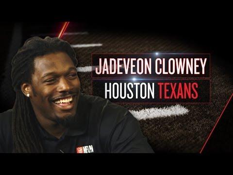 Jadeveon Clowney Talks Texans, J.J. Watt, Impersonates QBs Being Sacked (2014 NFLPA Rookie Premiere)