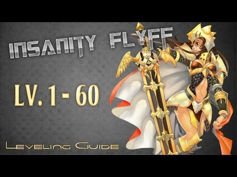 Insanity Flyff ~ Leveling Guide – Lv. 1 – 60