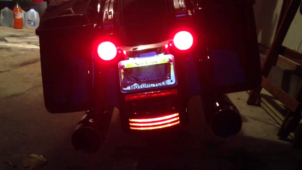 Harley Brake Light Upgrade Youtube
