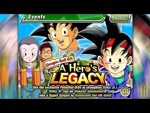 A HERO'S LEGACY (Evento GOKU JR.) - Dragon Ball Z DOKKAN BATTLE!