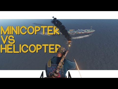 Rust - MiniCopter Vs Helicopter! thumbnail