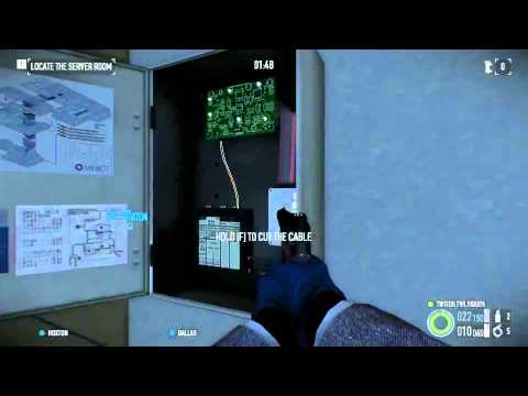 Payday 2. FBI Stealth - Solo