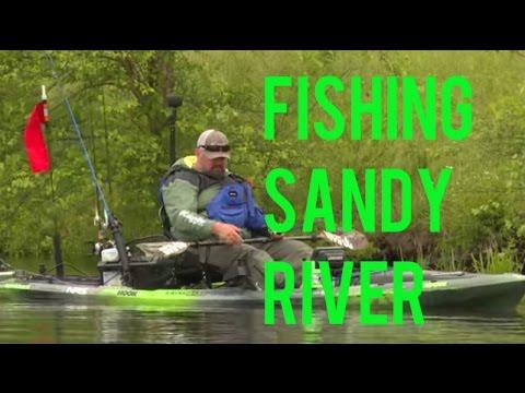 Kayak Fishing Sandy River Reservoir