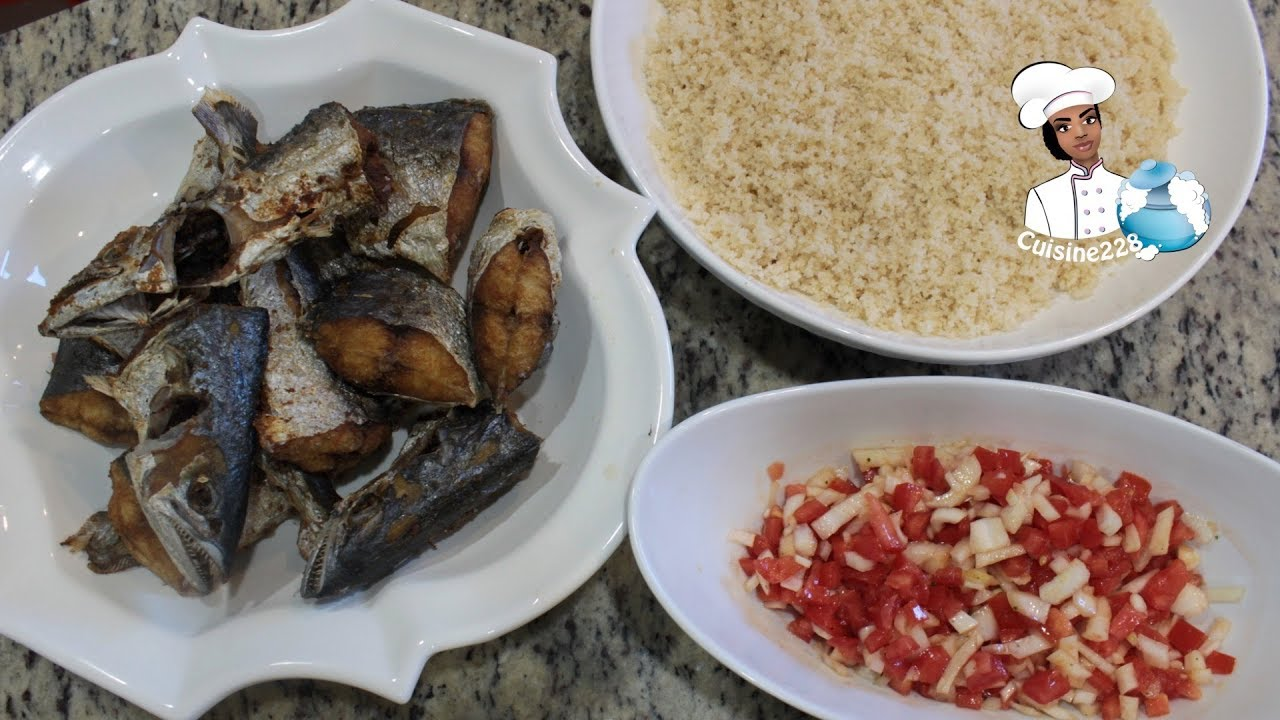 Cuisine Four Micro Onde microwaded attiéké || attiéké au micro-onde