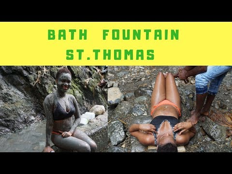 Bath Fountain St.Thomas || Natural Hot Springs in Jamaica || VLOG