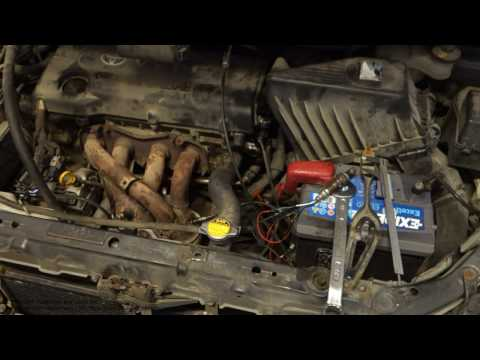 How to reconnect oxygen sensor wires and connectors in car