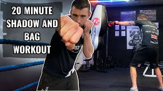 20 Minute Boxing Workout At Home | Boxing Fitness