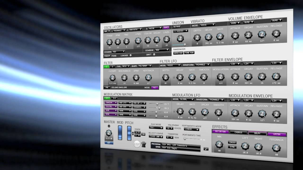 Dub Magic — 64 Presets Bank Add-On for Corona Synth