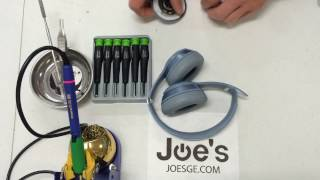 How to Repair Beats By Dre Solo 2 Audio Jack 3.5MM PCB Fix Repair