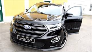 Loder1899 - Ford Edge Bi-Turbo Neu 2016 22 Zoll!!! Walk Aroung