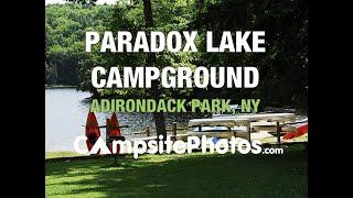 Paradox Lake Campground, Adirondack Park, New York