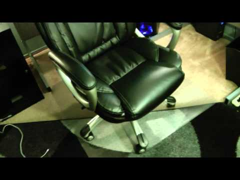 Office Depot True Innovations High-Back Bonded Leather Chair Model 9858