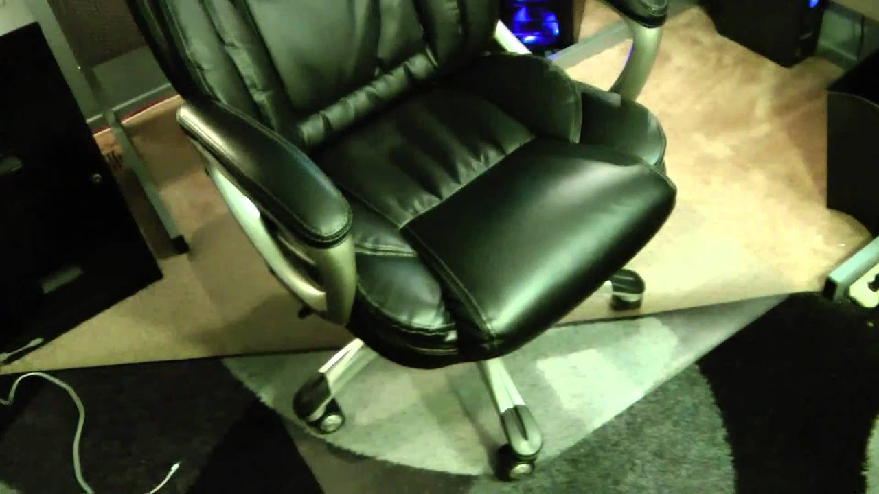 Office Depot True Innovations High Back Bonded Leather Chair Model 9858    YouTube