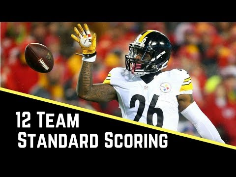 Live 2017 Fantasy Football Mock Draft - Yahoo 12 Team Standard