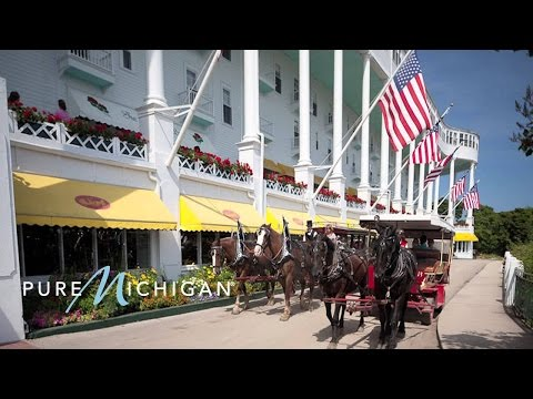 Mackinac Island Tour & Grand Hotel