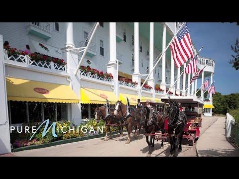 Mackinac Island Tour & Grand Hotel