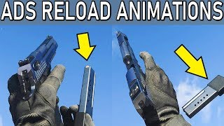 COD Modern Warfare - All ADS Reload Animations With Extended Mags