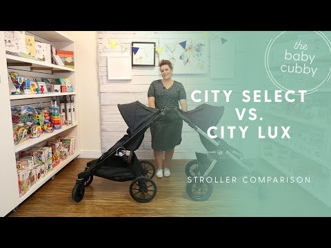 Baby Jogger City Select Vs City Select Lux Comparison Youtube
