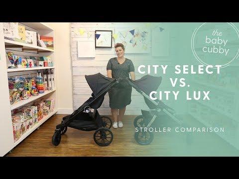 Baby Jogger City Select vs. City Select Lux Comparison