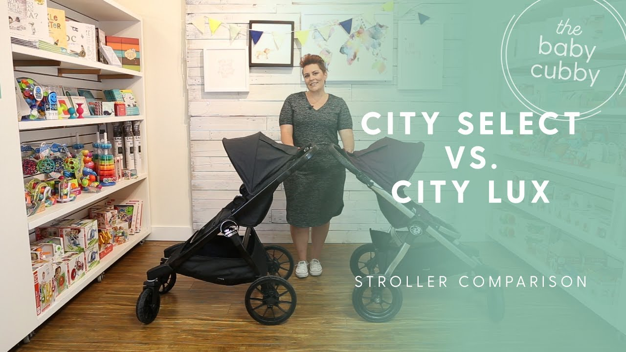 ceeb52426 Baby Jogger City Select vs. City Select Lux Comparison - YouTube