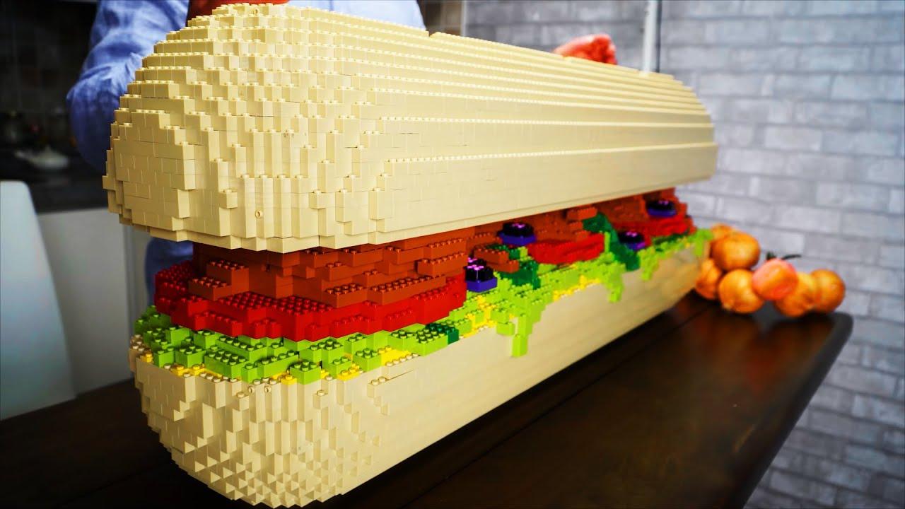 Sándwich de LEGO | En la Red