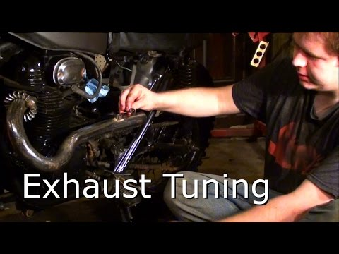 Exhaust Tuning Trick for Straight Pipes - Lollipops