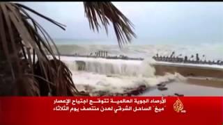 تداعيات إعصار ميغ في جزيرة سقطرى اليمنية