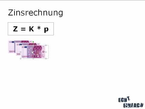 Mathe Video: Zinsen, Zinssatz, Kapital