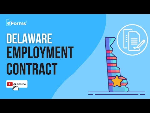 Delaware Employment Contract - EXPLAINED