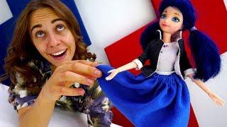 Шьем юбку для Маринетт своими руками - Видео для девочек