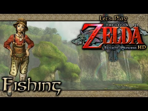 [Zelda: Twilight Princess HD] Extra 3 - Fishing (Journal, Sinking Lure & Hylian Loach)