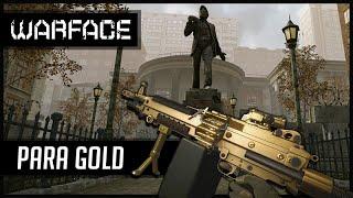 Warface M249 Para Gold