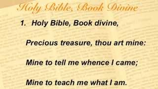 Holy Bible, Book Divine (Baptist Hymnal #260)