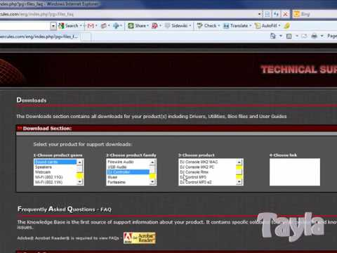 How to install Hercules RMX on Windows 7 - 64 Bit.wmv