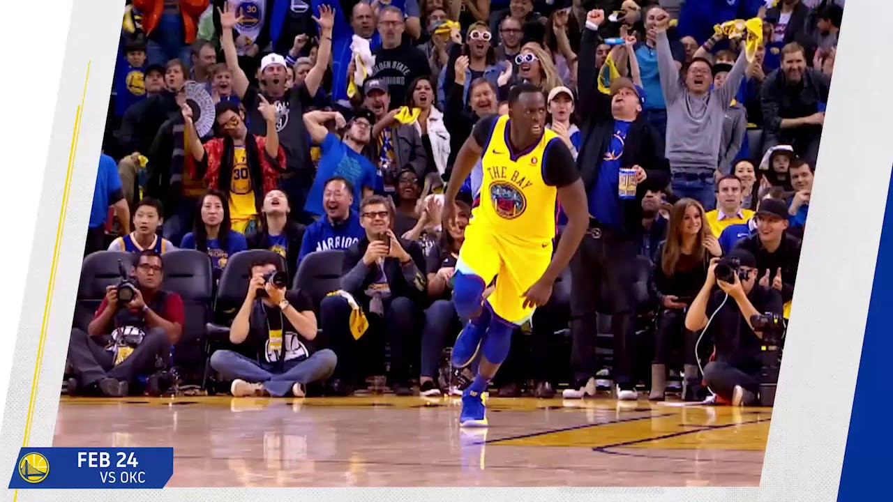 2017-18 Moments of the Year: Draymond Green vs Oklahoma City