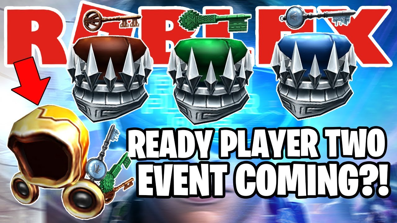 new leaked roblox event with free prizes ready player two event youtube youtube