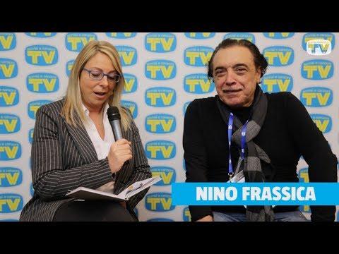 Nino Frassica nella redazione di Sorrisi a Sanremo