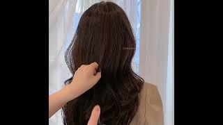차홍룸 양재점 김현지 스킨브라운염색 엘리자벳펌 / 긴머…