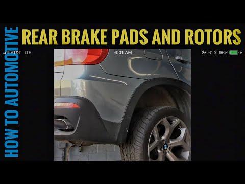 Bmw Rear Brake Pads And Sensor Replacement E83 E46 E38