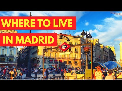 WHERE TO LIVE IN MADRID SPAIN AS A STUDENT, EXPAT, OR AUXILIAR DE CONVERSACION | MOVING TO MADRID